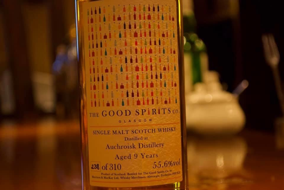 Auchroisk 9y The Good Spirits.co