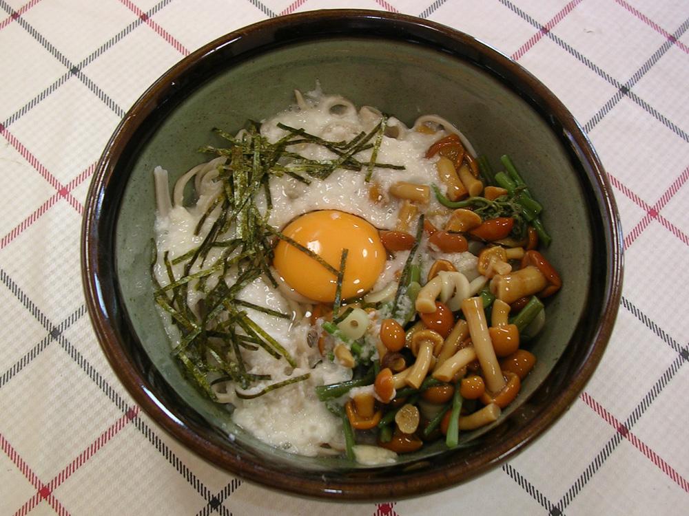 山菜田舎そば/¥880