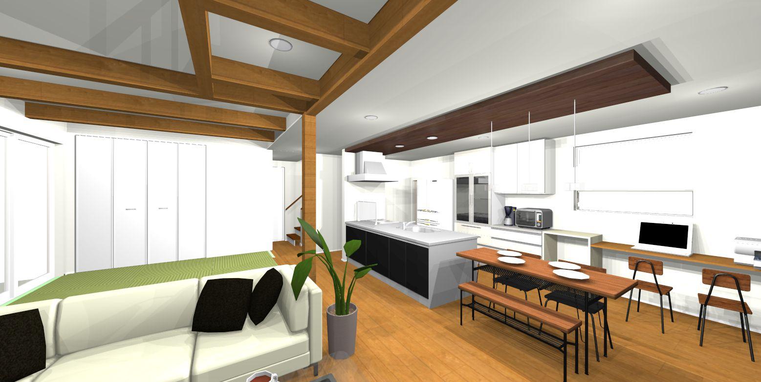 ~シンプルな外観からは、想像もつかない暮らしやすさが詰まったデザイン住宅~