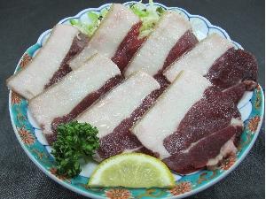 天然イノシシ肉の塩焼き 750円