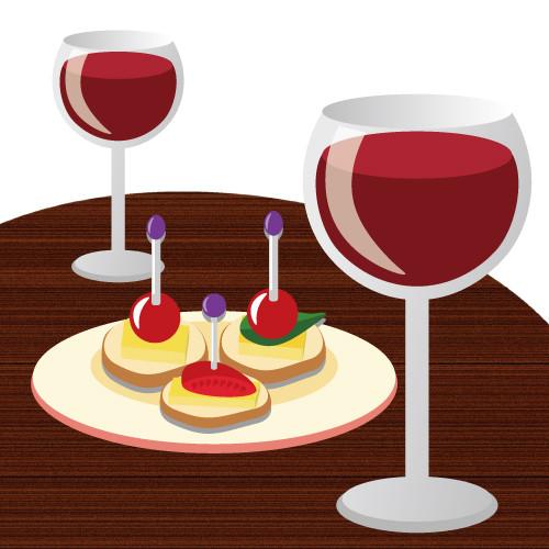 ワインとつまみ.jpg
