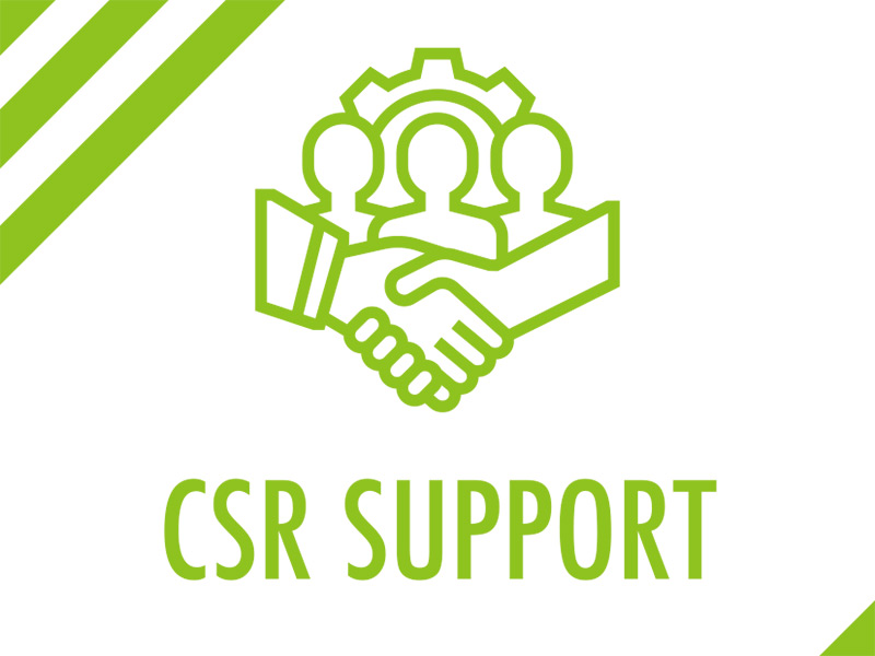 CSR  SUPPORT