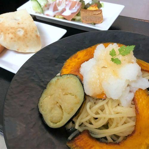 カボチャと茄子のおろしパスタ(温製)2.jpg