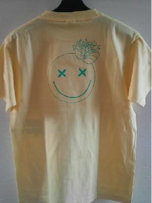体育祭のクラスTシャツを自分たちでデザインをした画で作っていただきました。