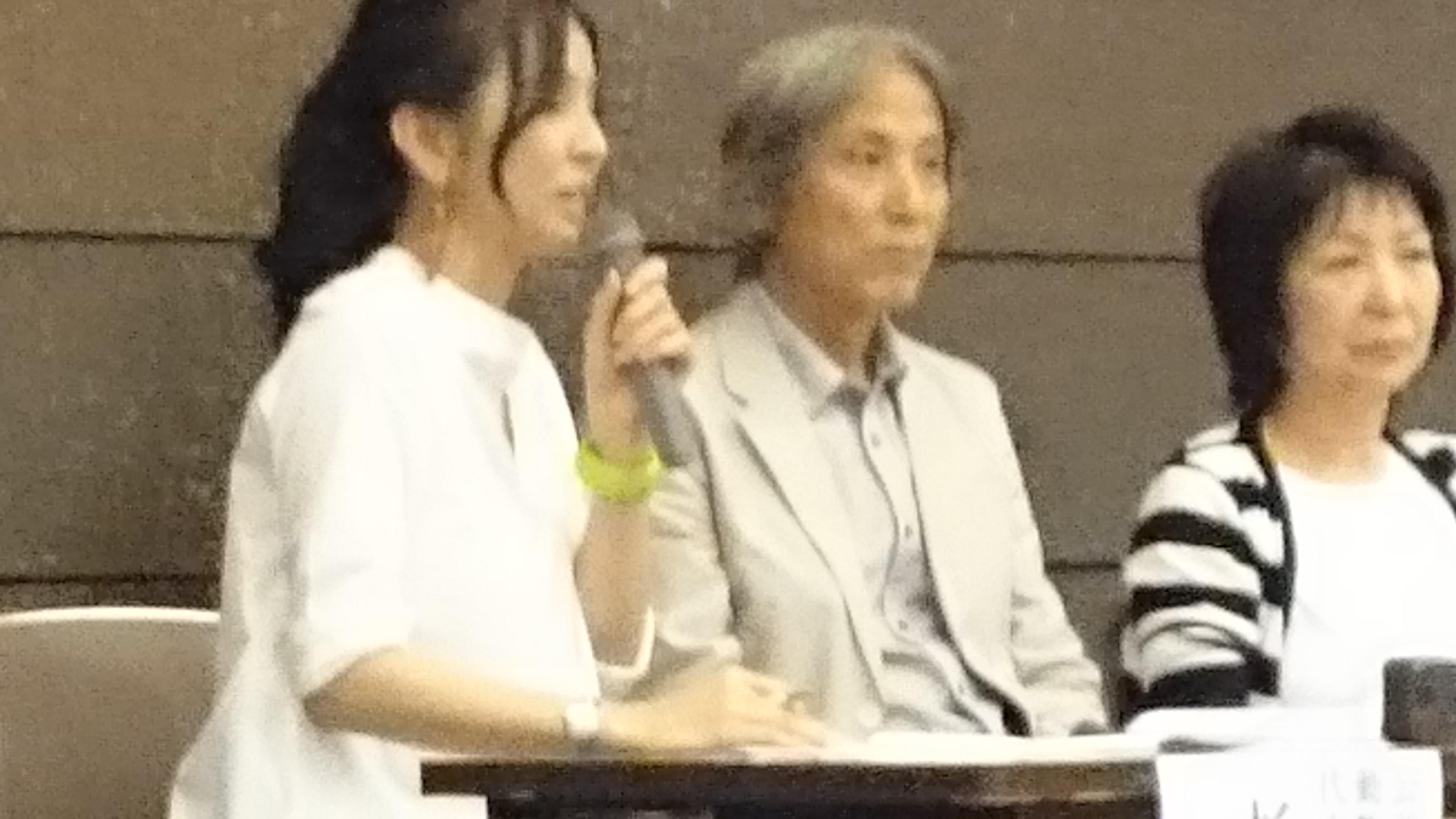 杉本彩司会でパネルディスカッション