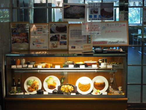 レストラン江田島の名物海軍カレーなど
