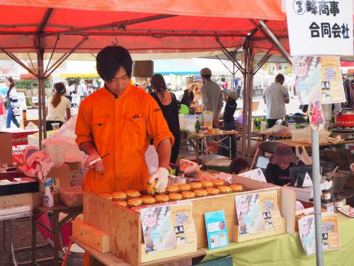 19-ひろしま山の日の集いで二重焼き