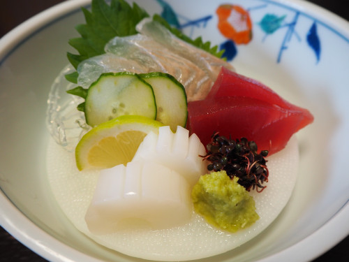 22-すし柳定食さしみ