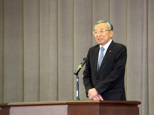 第72回大柿高校入学式(明岳周作江田島市長の祝辞)