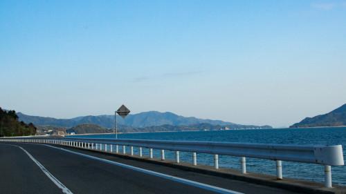 008沖美町から能美町方面へ続く県道沿い