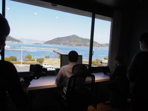 COCODEMOから窓の景色