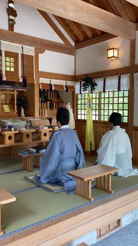 榊葉会 慰霊祭
