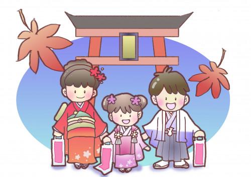 一本木/清水/有明山社 七五三祈願祭
