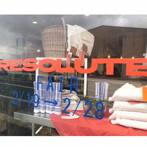 RESOLUTE POP UP STORE開催のお知らせ