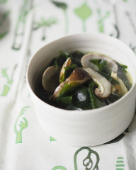 ・椎茸と若芽のスープ