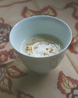 里芋スープ