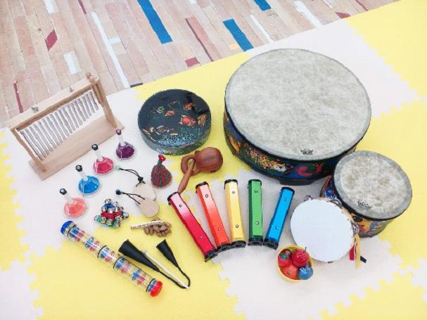 いろいろな楽器が充実イメージ