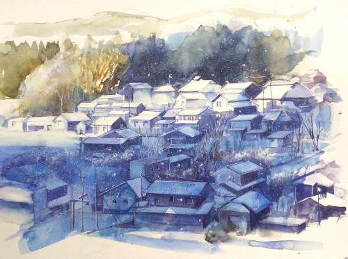 粉雪の朝.jpg