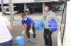 熊本へ支援物資を届けました。