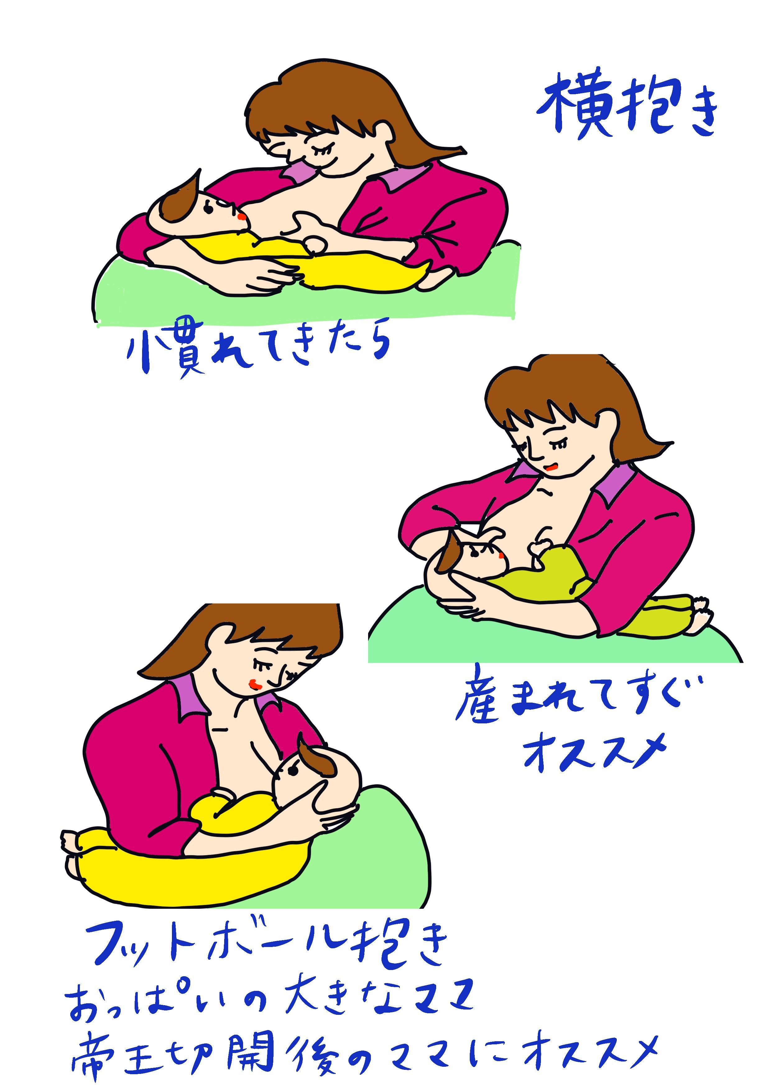 授乳 体勢