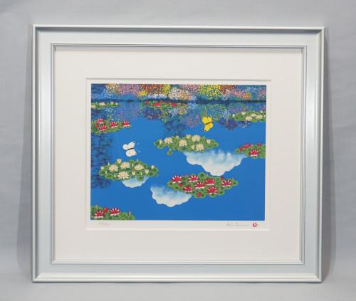 平松礼二「モネの池 夏」HP用画像.JPG