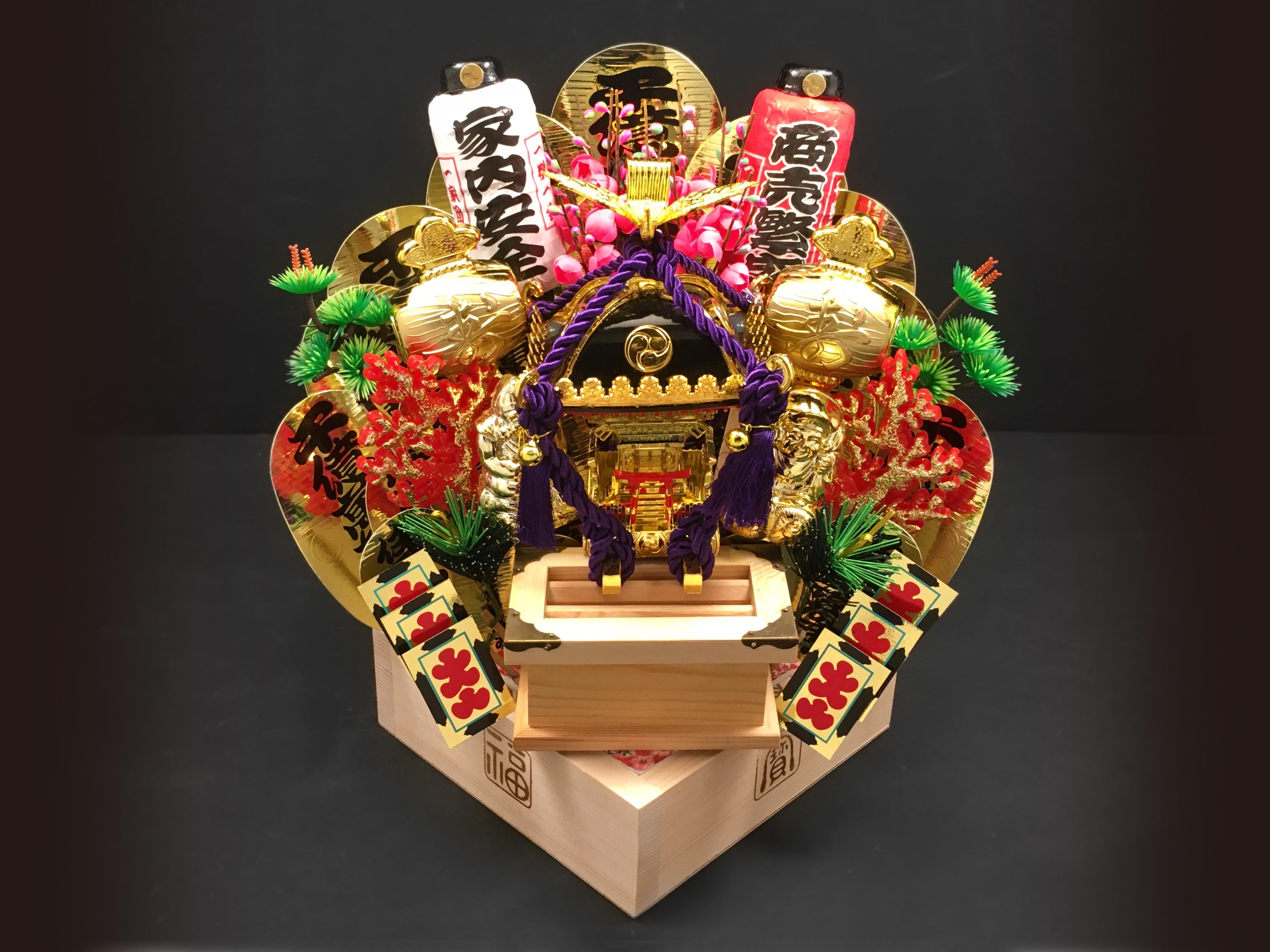 福マス三升(江戸神輿)
