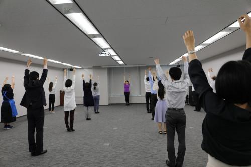 【活動報告】ラジオ体操ワンポイントレッスン