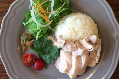 541+ 黒板MENU 海南鶏飯