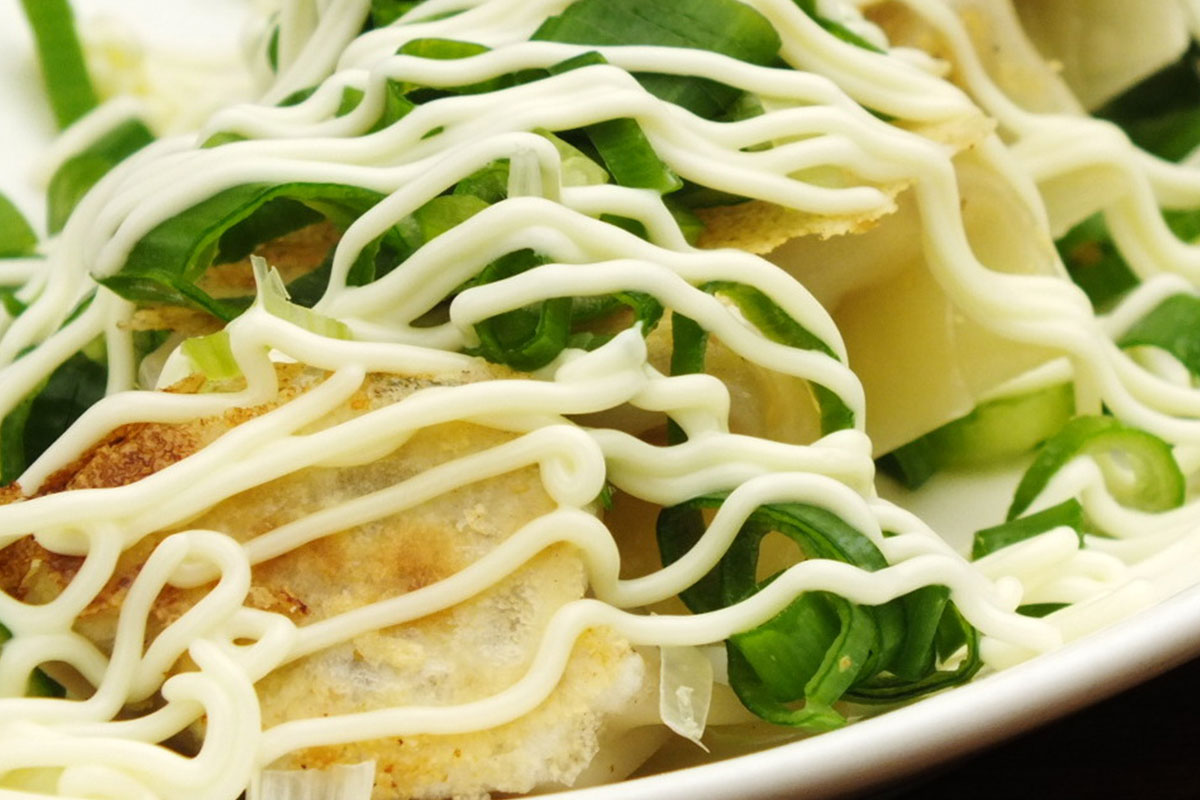 541+ koyoi 餃子 (ギョーザ) ねぎマヨ焼餃子