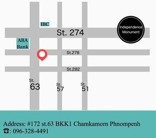 route to our salon : if you have any trouble finding the place, please contact us.