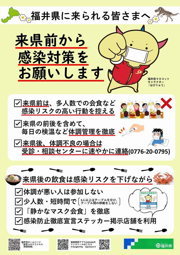 県 コロナ 情報 福井
