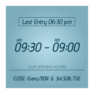 BRY OPENING HOURS