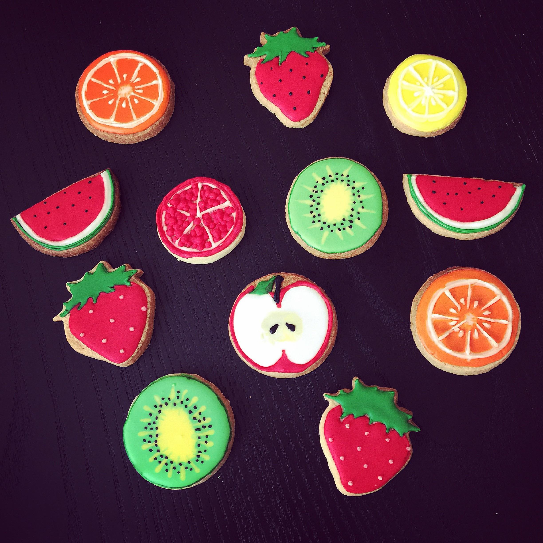 フルーツアイシングクッキー