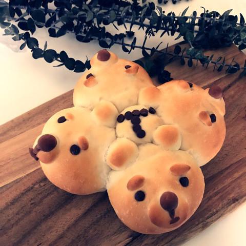 生チョコいりクマさんパン