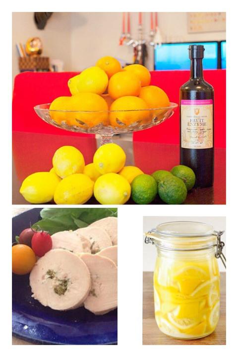無農薬 国産レモンの酵素 塩レモン 鶏ハムレッスン 限定15名