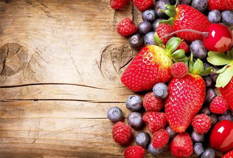 限定10名 子供の為のフルーツ酵素オーガニックいちご&ブルーベリーの酵素 フルーツパフェ作り