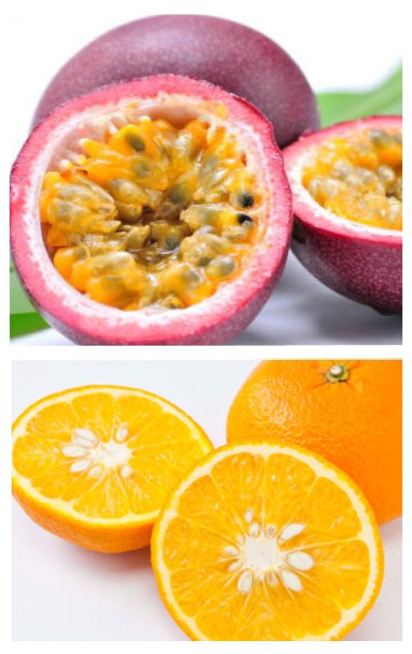 パッションフルーツと甘夏の爽やか酵素 レストを使ったクレープ作り