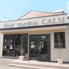 Hair gardem CALM 外観