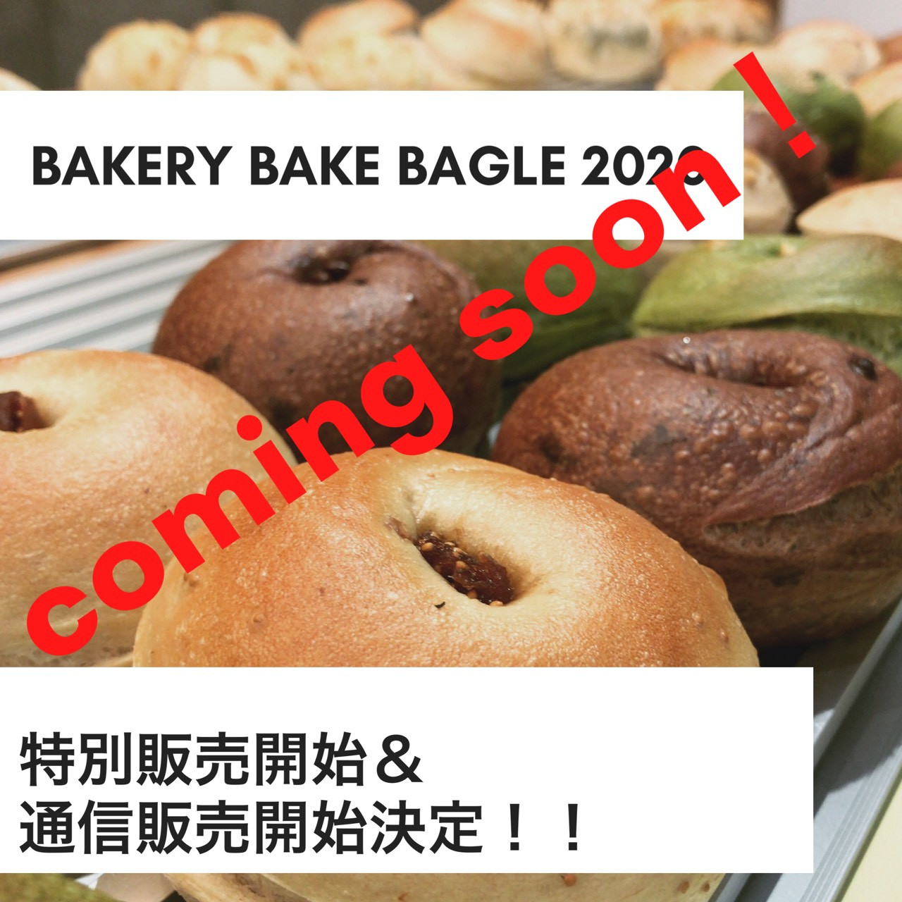 BAKERY BAKE BAGEL 2020