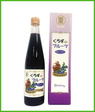 くろずdeフルーツ 有機ブルーベリー黒酢 500ml
