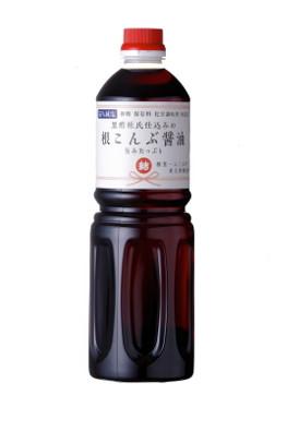 化学調味料、砂糖、保存料無添加『根こんぶ醤油』1000ml