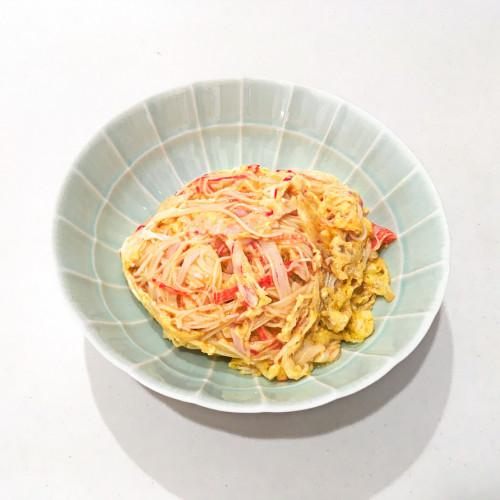 ザクロ甕酢レシピ『さっぱり天津飯』20200822-4h.jpg