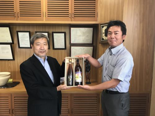 鹿児島短期大学贈呈式.JPG