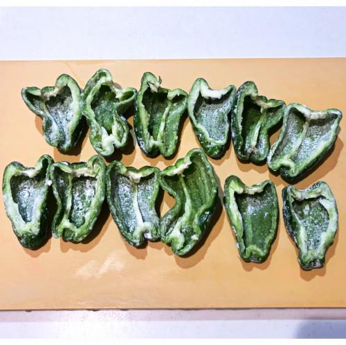 1年熟成甕酢・黒酢『ピーマンの肉詰め』20200712-2a.jpg