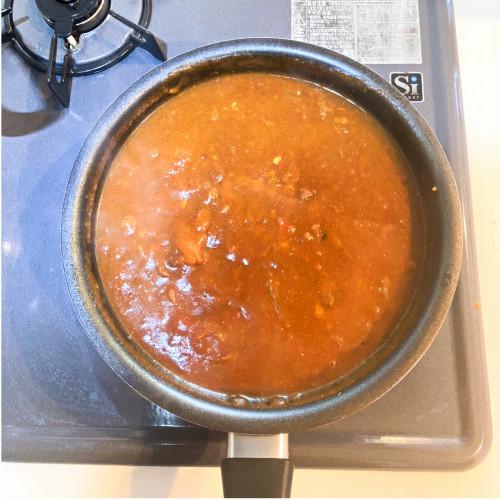 りんご酢、りんご黒酢レシピ『カレーそば』2a.jpg