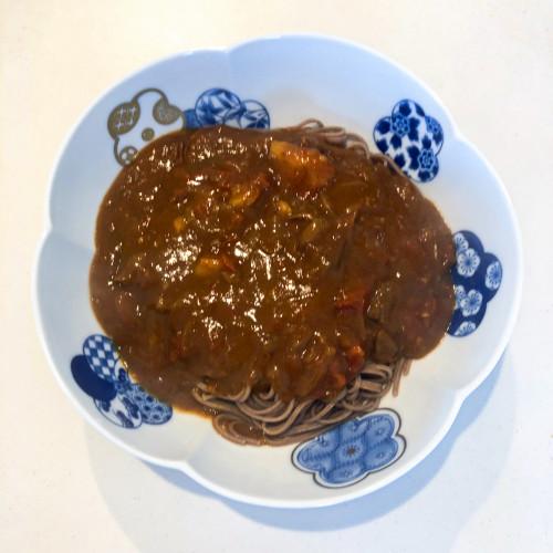 りんご酢、りんご黒酢レシピ『カレーそば』a.jpg