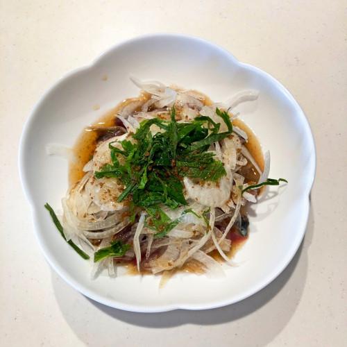 美味だしぽん(かつお節発酵酢配合ぽん酢)レシピ『かつおのたたき』3a.jpg