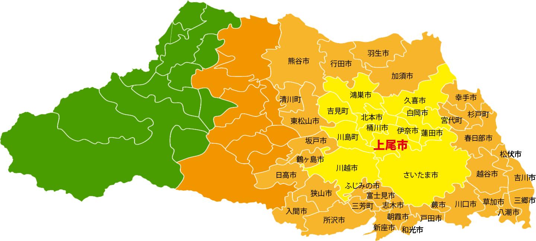 埼玉県対応地域