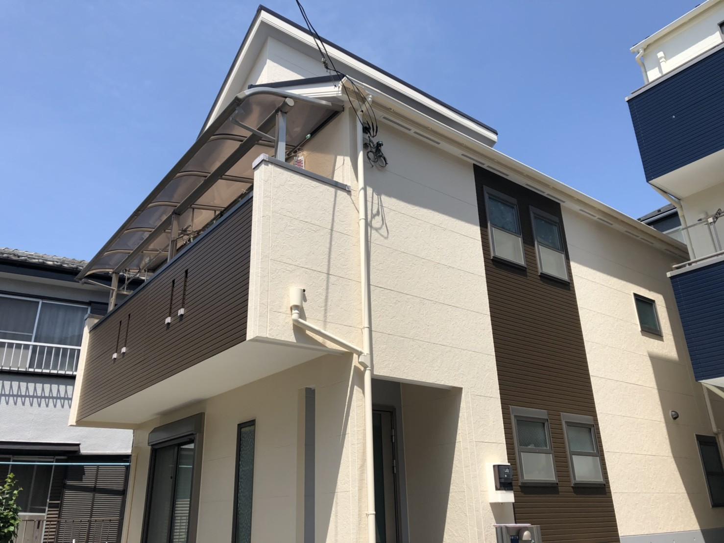 東京都板橋区の外壁塗装事例