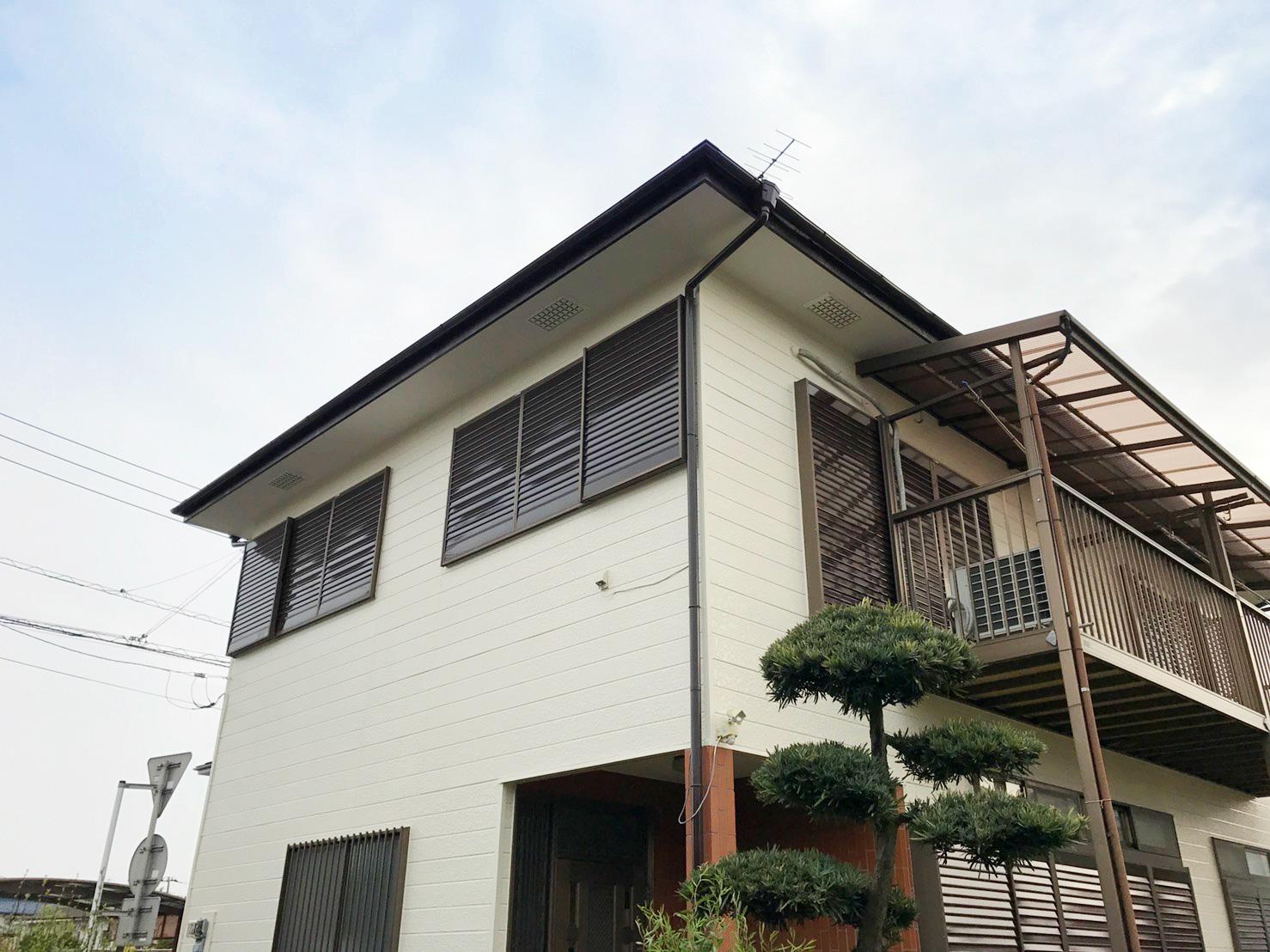 埼玉県上尾市の外壁塗装事例